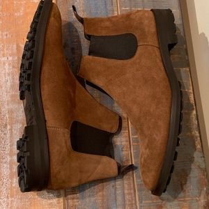 Men's To Boot New York Suede Chelsea Boots
